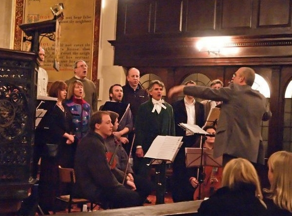 In concert at St John's Church, Lancaster