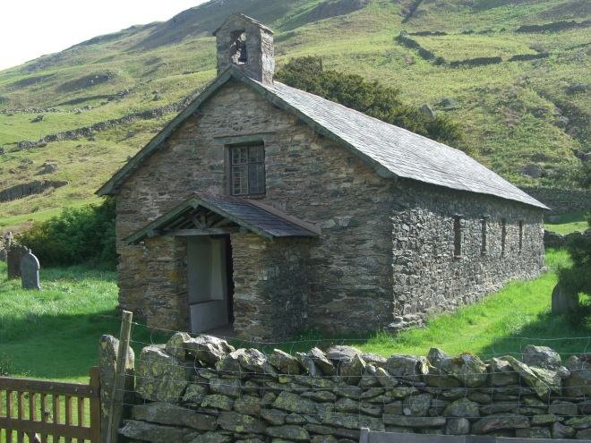 Martindale Old Church. Photo by Mick Knapton