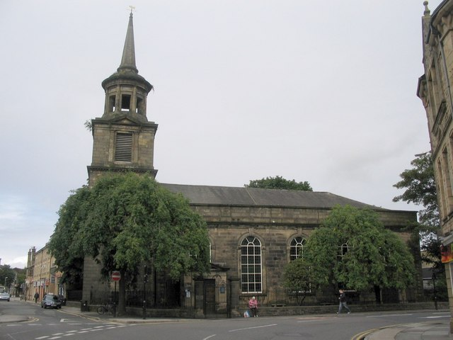 The church of St John the Evangelist, Lancaster. Photo copyright Phil Williams.