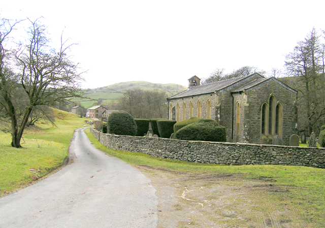 Holy Trinity Church, Howgill. Photograph by Peter Amsden